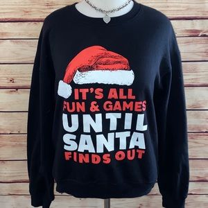Wound Up Santa Sweatshirt